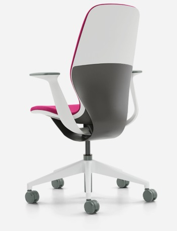 the aeron office chair faces a new challenger in steelcase s silq