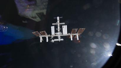 A file undated handout image from NASA T.V. released on 20 May 2011 and taken by one of the crew members aboard the space shuttle Endeavour shows the International Space Station (ISS) as the two spacecraft were preparing to link up in Earth orbit. Reports state on 24 March 2012 that the crew of the ISS evacuated to escape capsules as a piece of space debris approached the space station. The debris from a Russian rocket was discovered on 23 March 2012 after it was too late to reposition the Space Station.