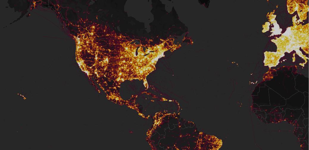 Heat Map Strava Labs