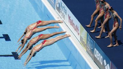 Synchronized swimming world championships