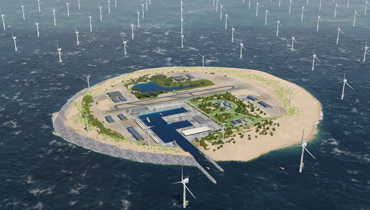 TenneT, the operator of the Netherlands' electric grid, has come up with an ambitious plan to make even better use of the seas. It wants to build an artificial island in the middle of the North Sea, which could support the world's largest wind farm.
