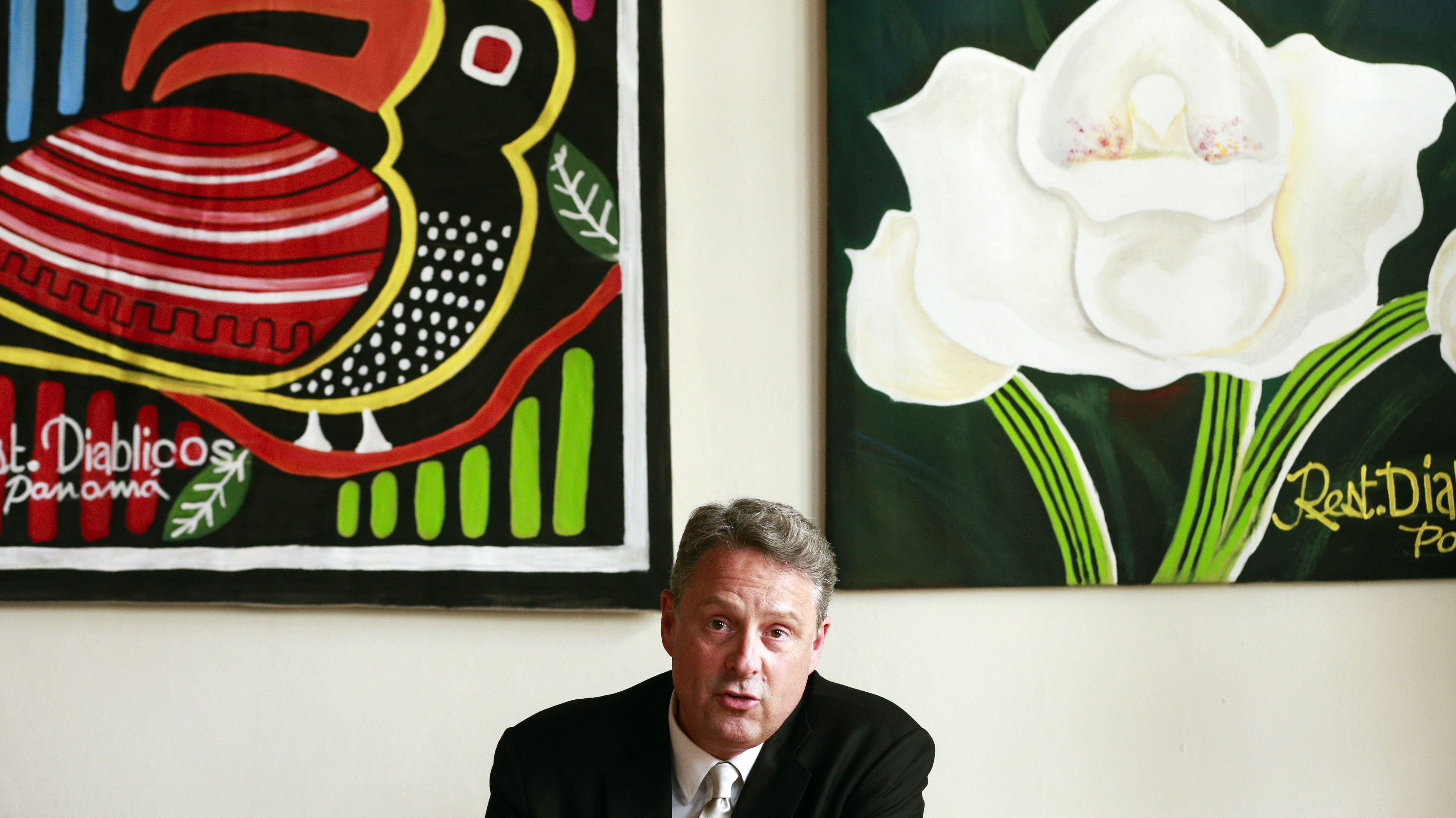 John Feeley, US ambassador to Panama, resigned.