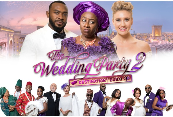 Poster from the film Wedding Party 2: Destination Dubai produced by the Elfike Film Collective.