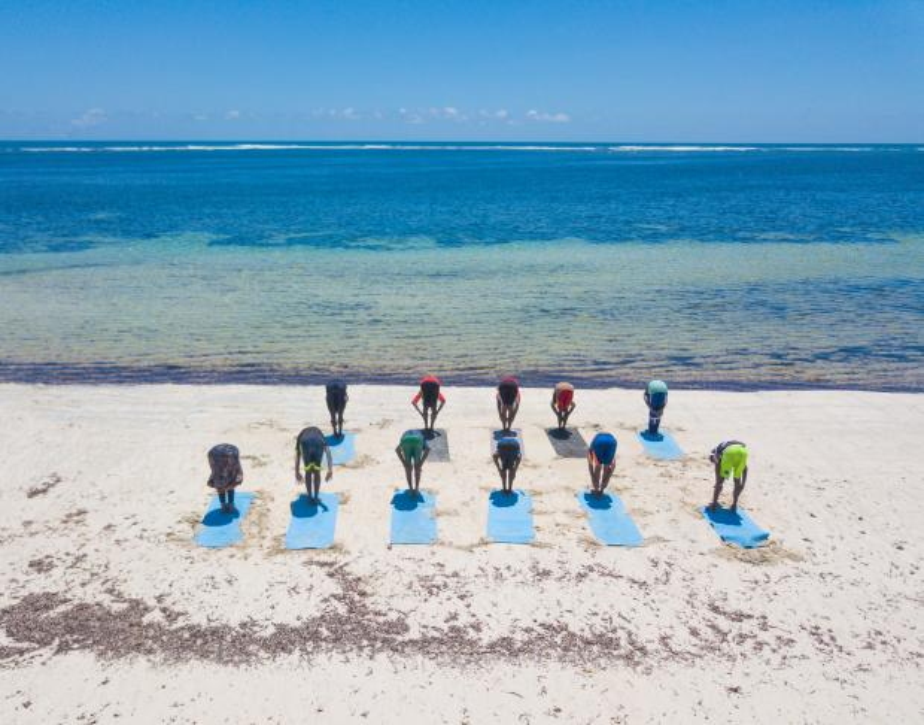Image result for somalia's beach yoga
