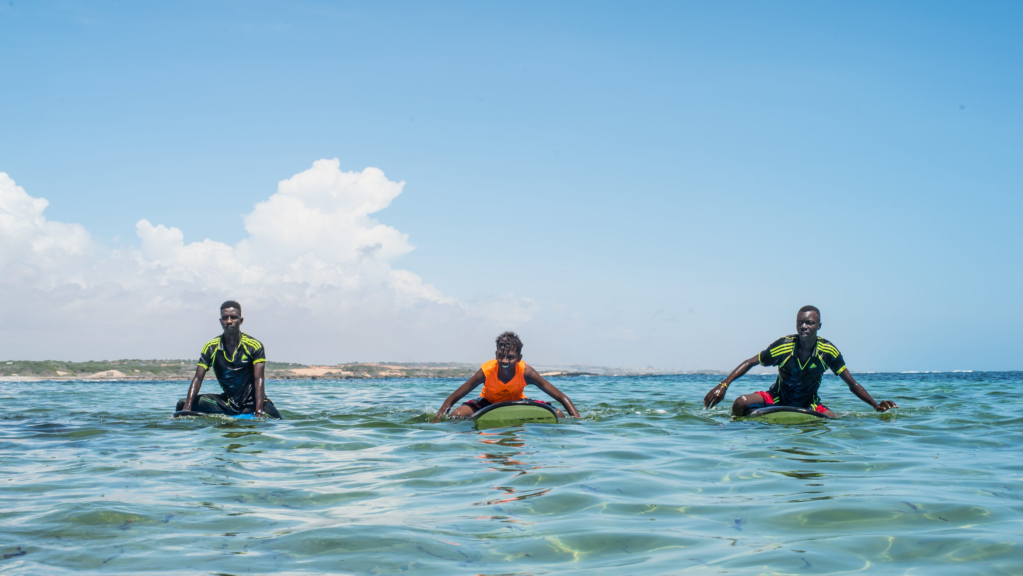 Surfing And Yoga On The Beach Is Helping Heal Victims Of Somalia S War