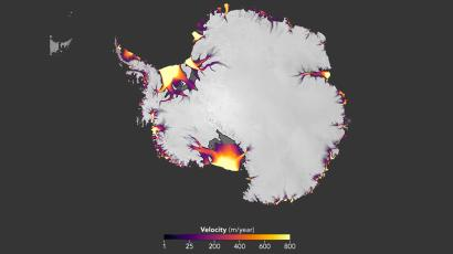 A new NASA image confirms that Antarctica is losing ice
