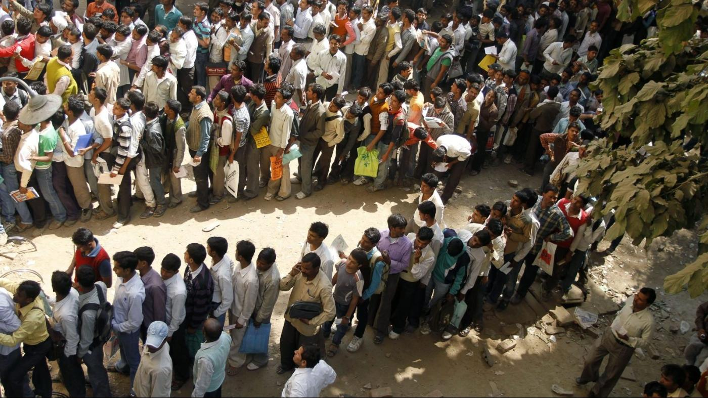 India's Unemployment Climbs To 7% At 31 Million, And Is