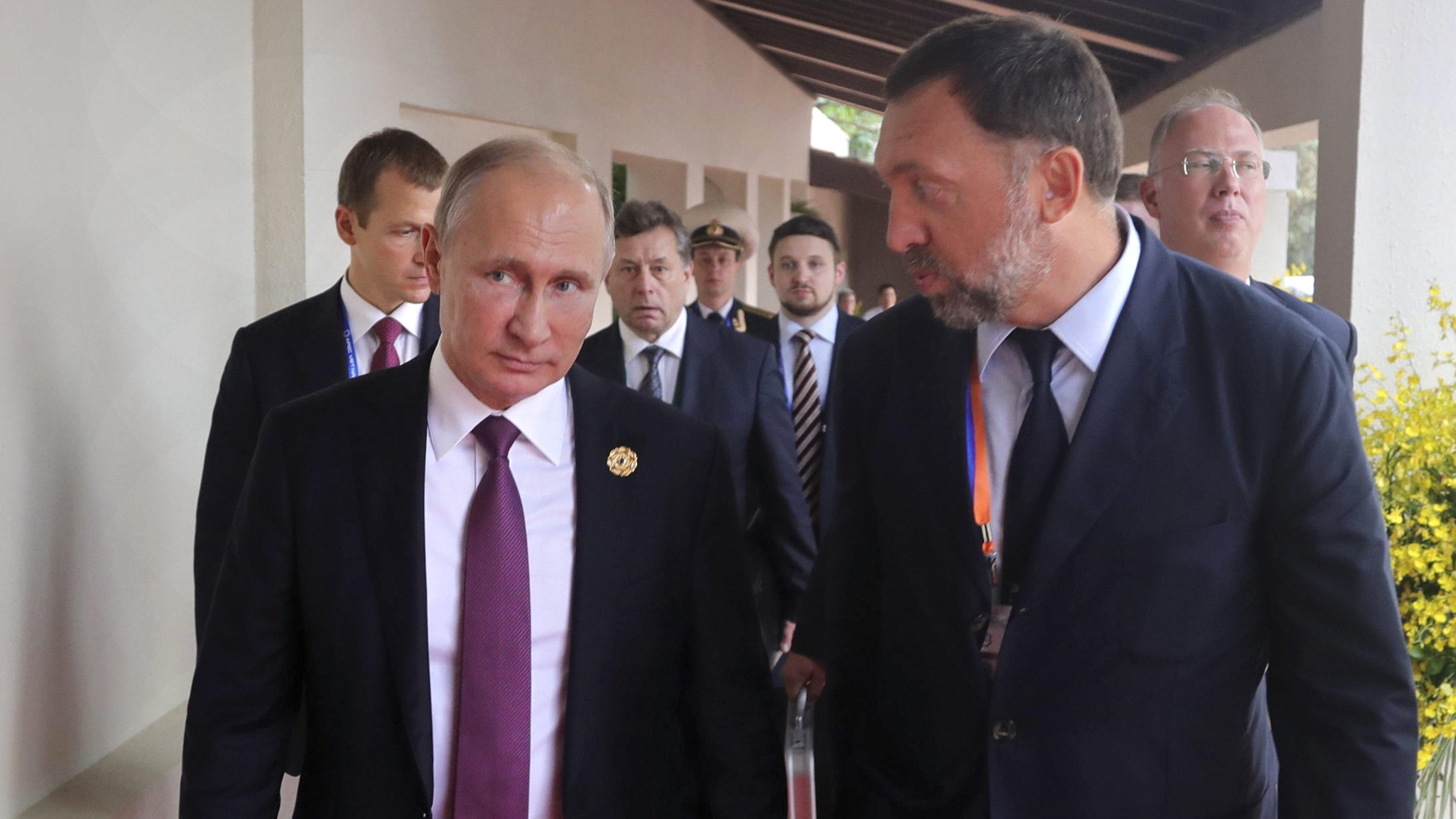 Deripaska manafort putin yacht trump russia navalny