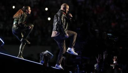 new product ee586 1bdb9 Super Bowl 2018: Justin Timberlake's halftime show scored a ...