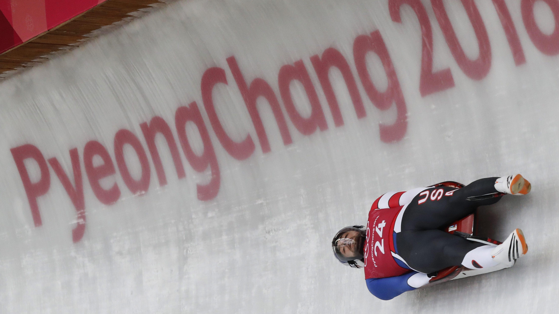 Pyeongchang Olympics Luge Men