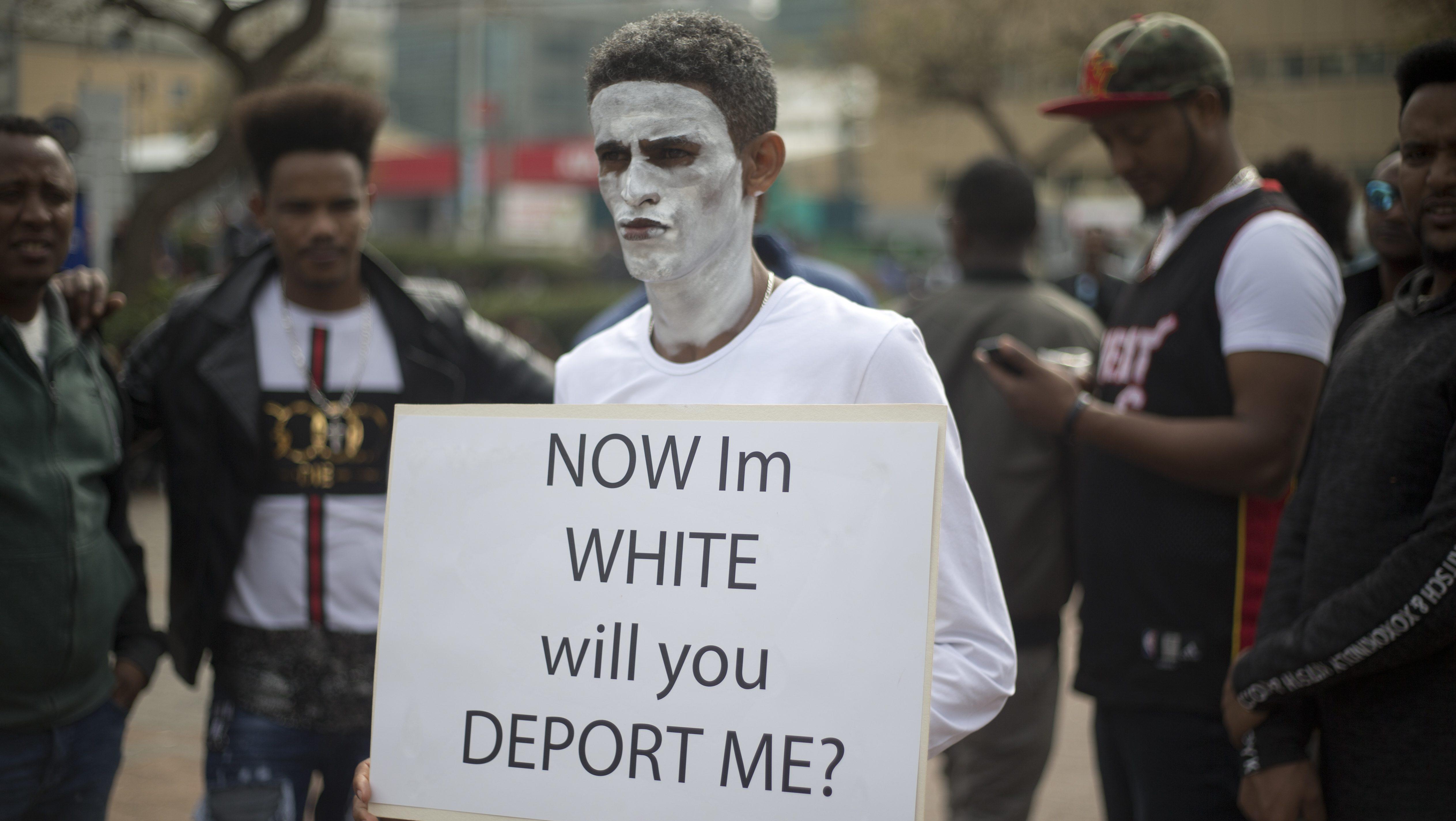 Image result for africans being deported