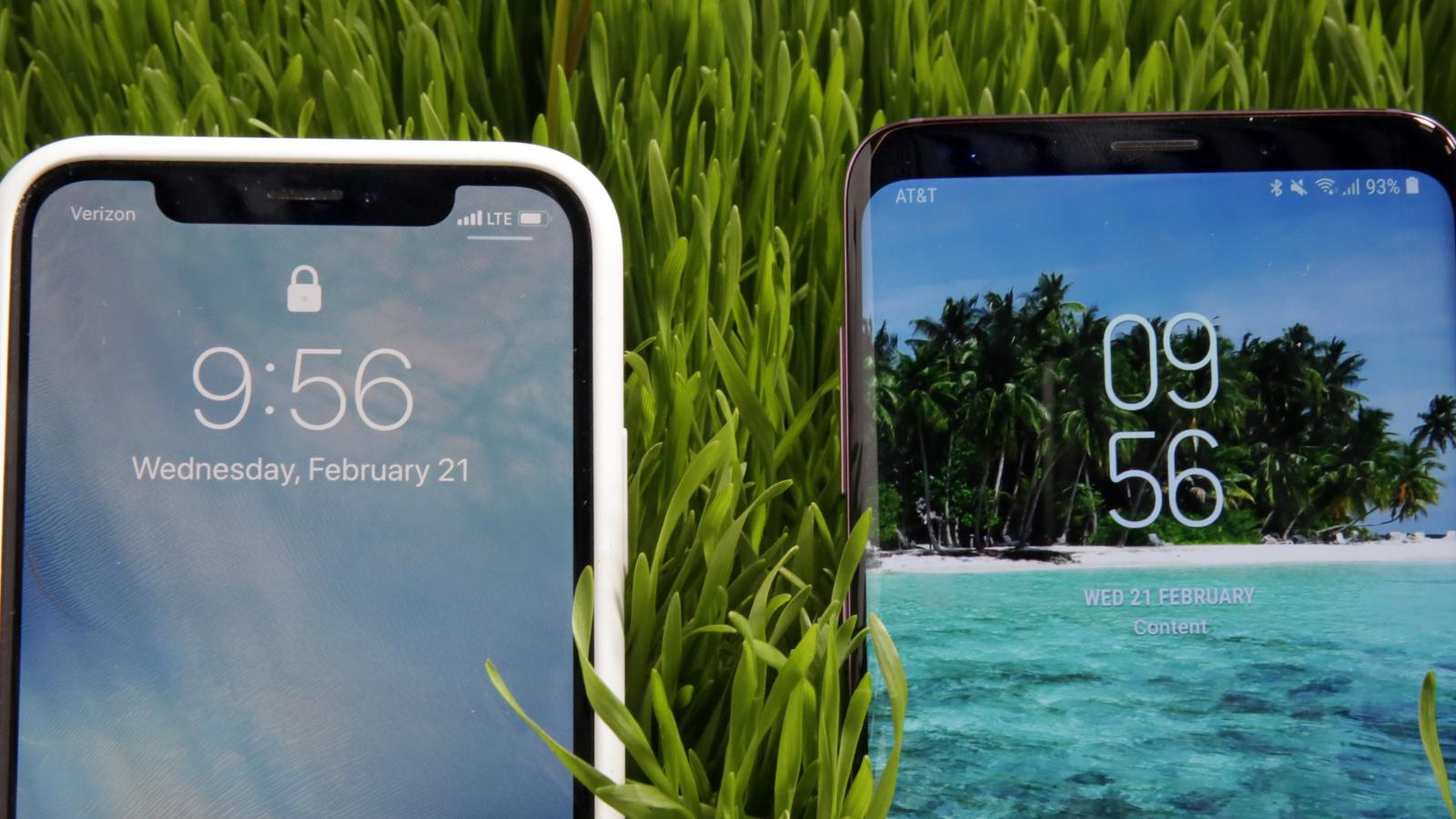 Mwc 2018 Clones Of The Apple Iphone X Are Everywhere Down