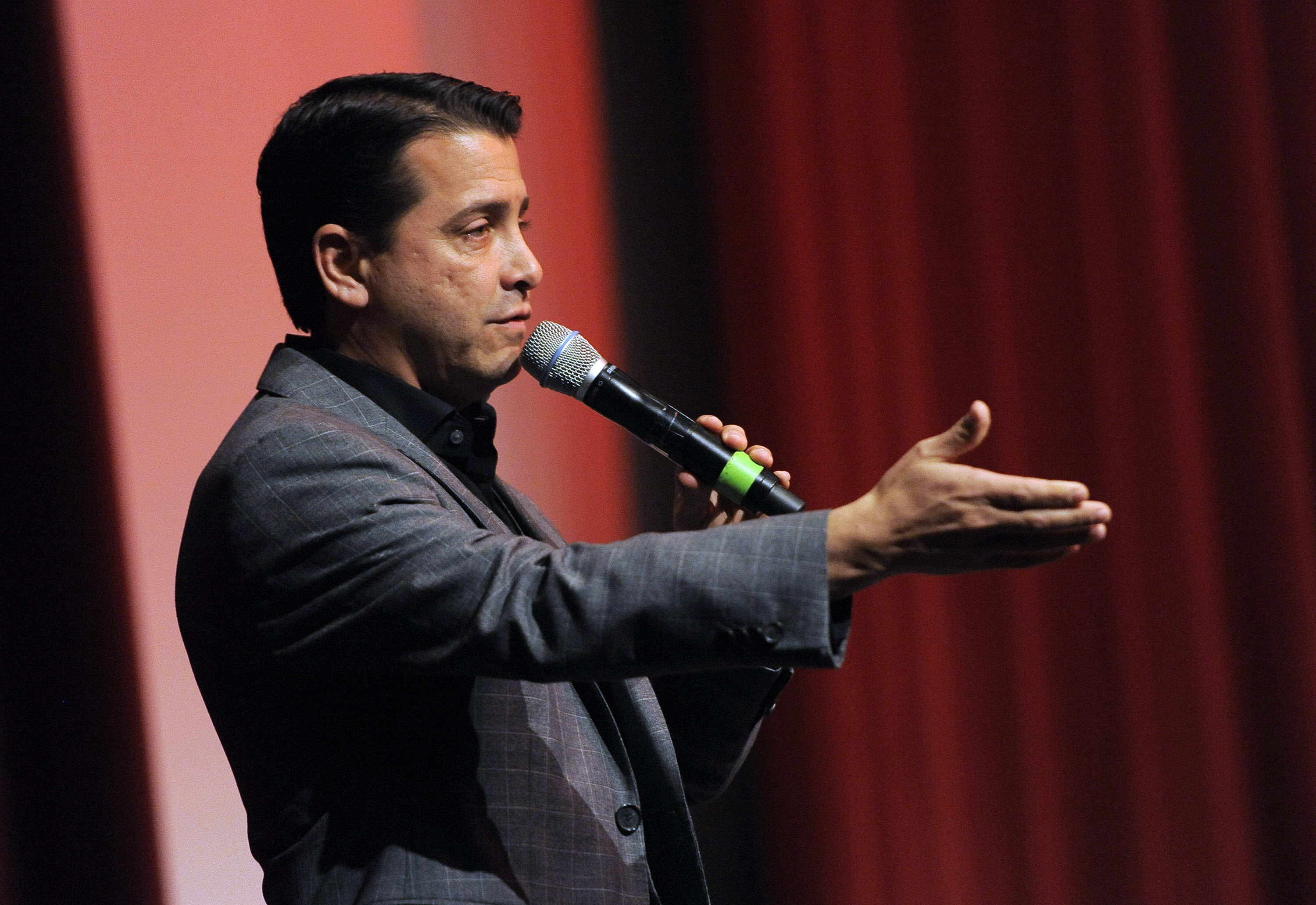 David Glasser speaks during The Weinstein Company and Lexus Present Lexus Short Films at the Directors Guild of America Theater on Thursday, Feb. 21, 2013, in Los Angeles. (Photo by Chris Pizzello/Invision/AP)