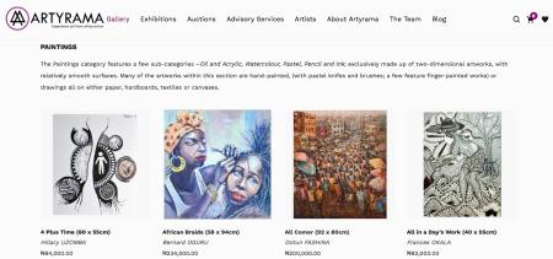 African art: A Nigerian startup wants collectors to buy art online