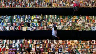 Remember what you read build a recall system using ifttt people browse books at a book stall in petaling jaya outside kuala lumpur october 16 fandeluxe Images