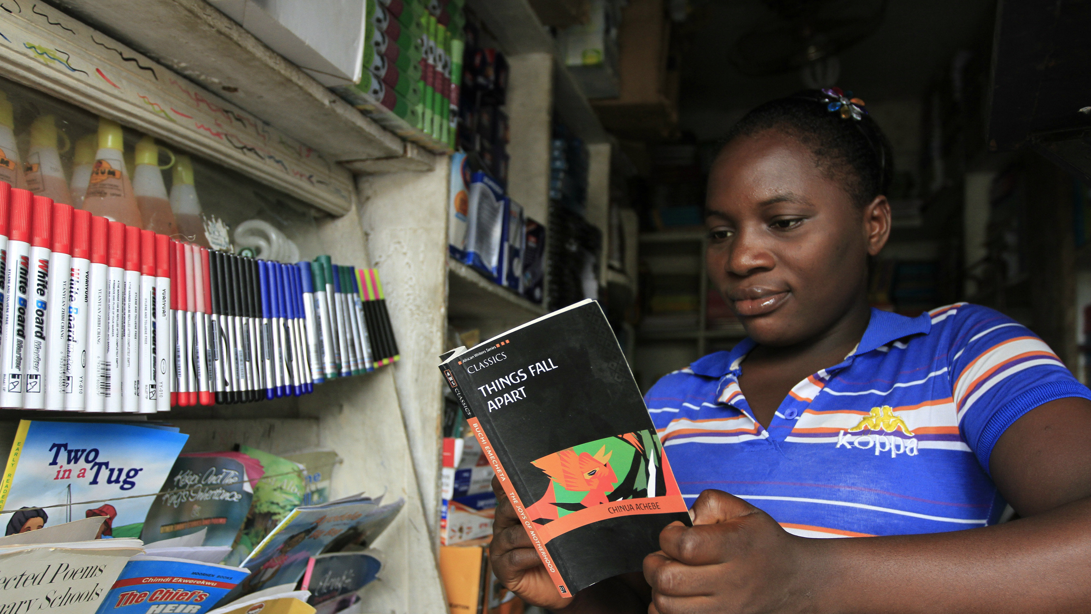 Chimamanda Adichie and Nigeria's bookshops — Quartz Africa