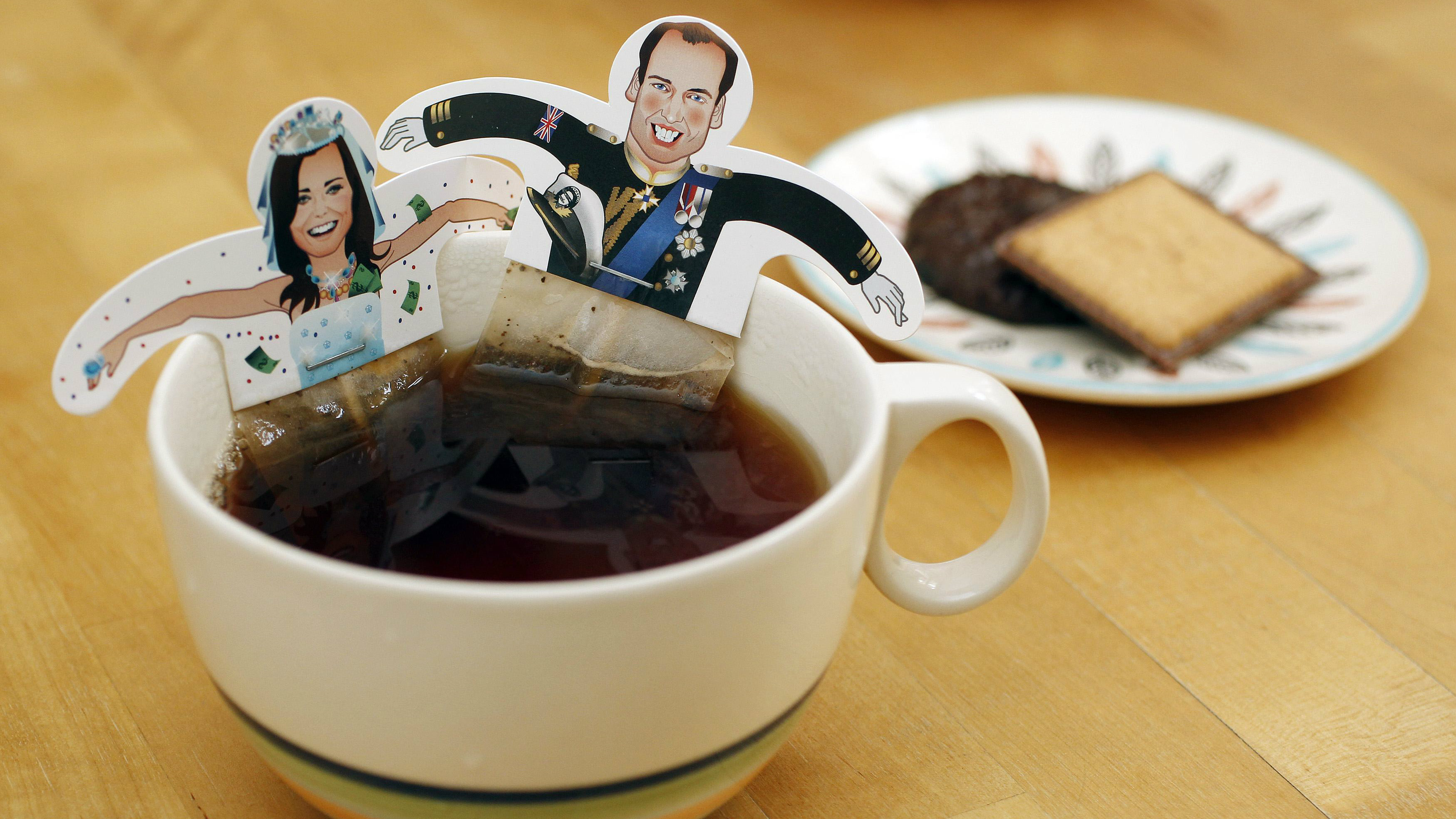 Will and Kate tea
