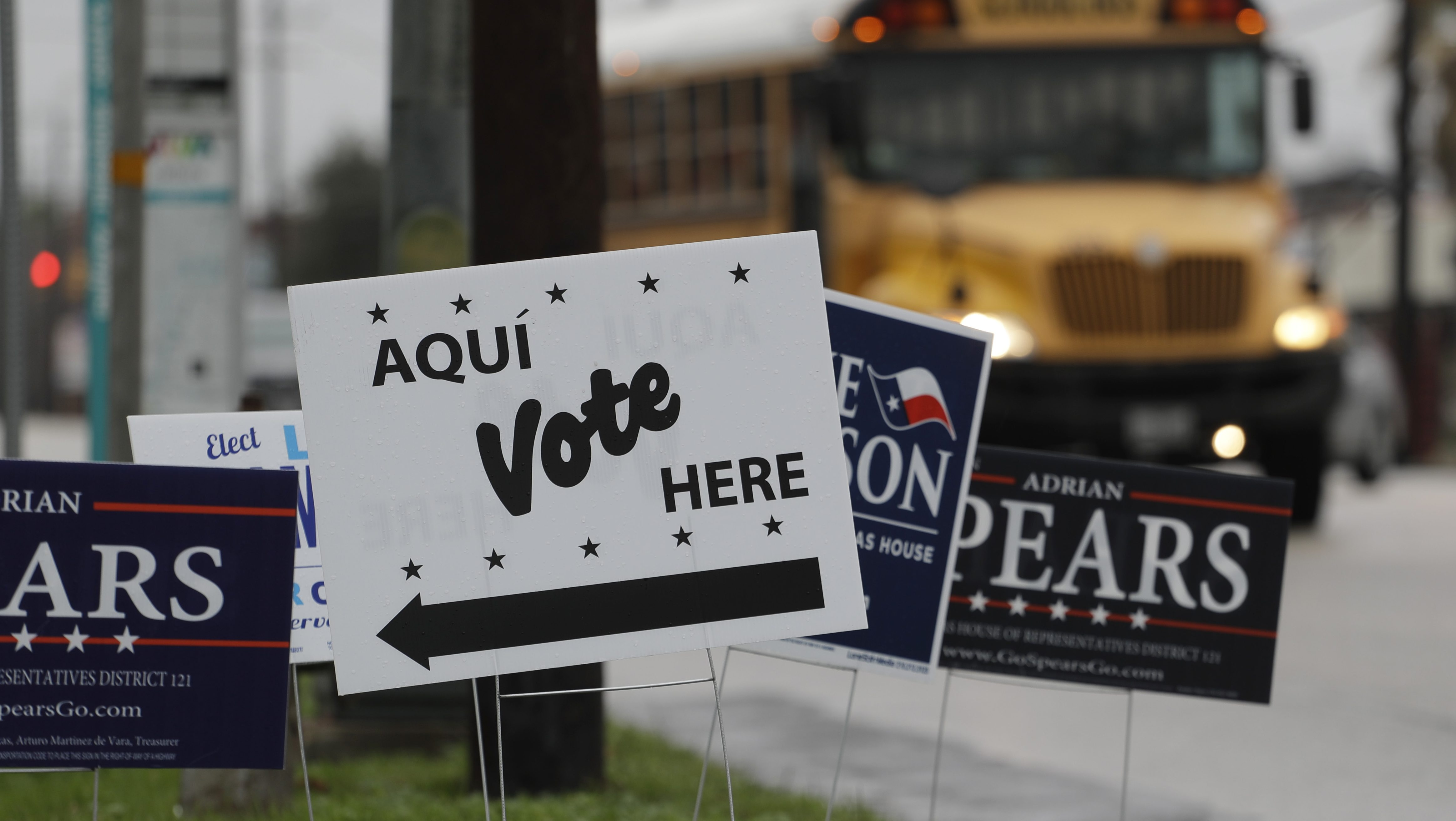 Texas Democrats are so excited to vote, they're scaring the government