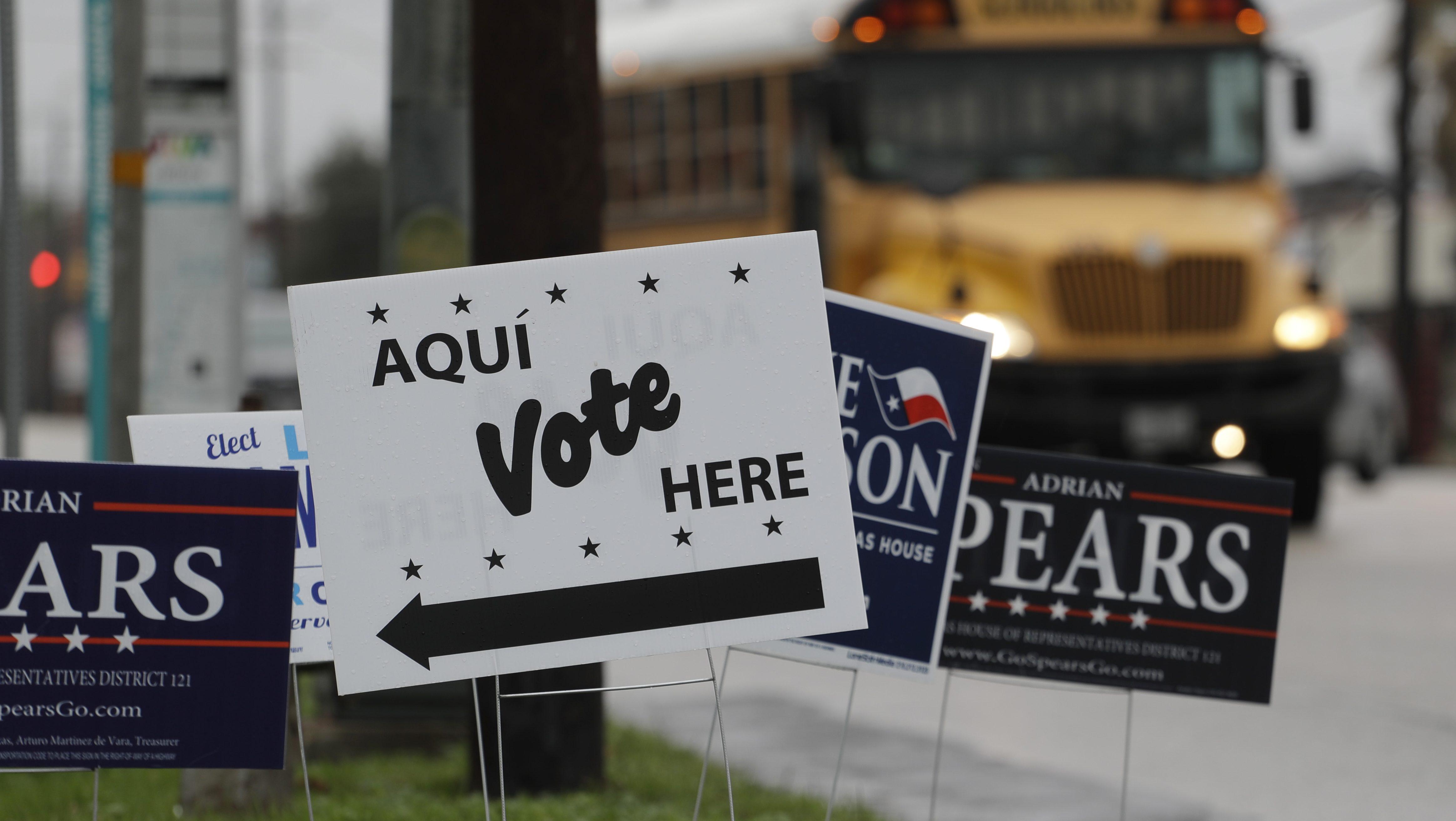 Trump urges Texas GOP primary voters to back incumbents