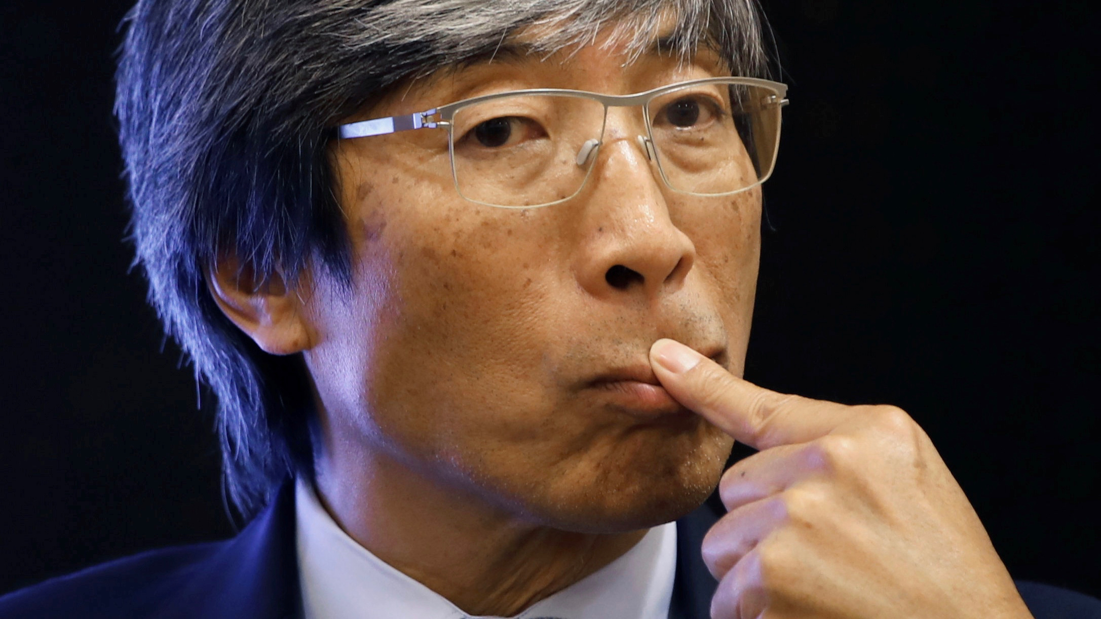 Patrick Soon-Shiong, medical researcher and chairman of the Chan Soon-Shiong Family Foundation, attends the Cancer MoonShot news conference in Taipei, Taiwan, September 26, 2016. REUTERS/Tyrone Siu - S1BEUDNSZAAB