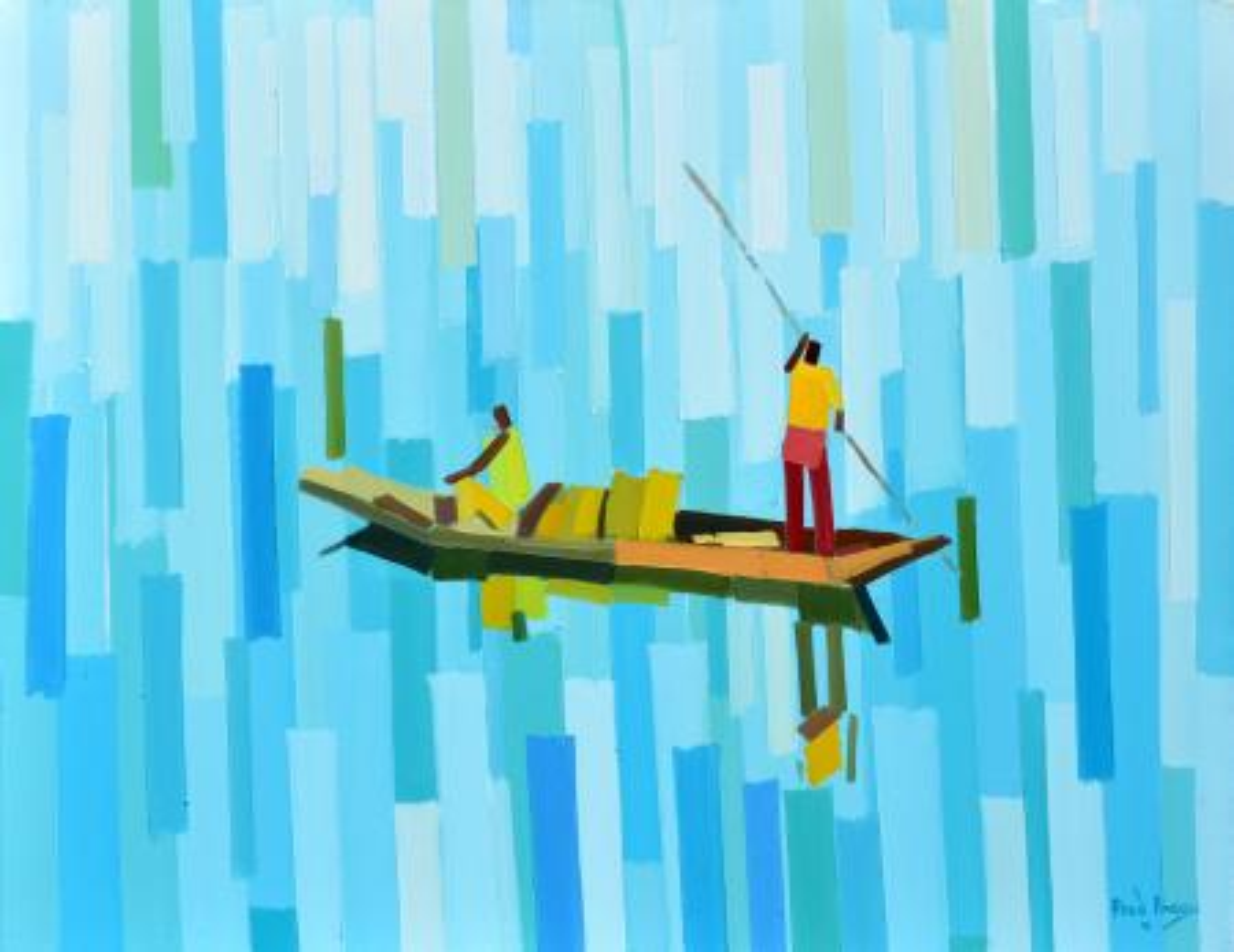 "Fred Abuga's ""Into the Lake"""