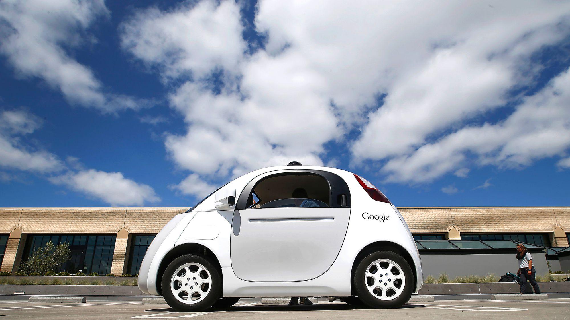Self-driving car.