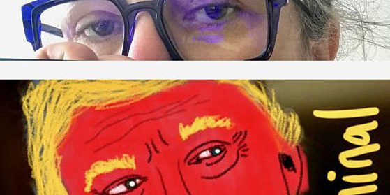 Rosie O'Donnell's anti-Trump iPhone paintings are hit on ...