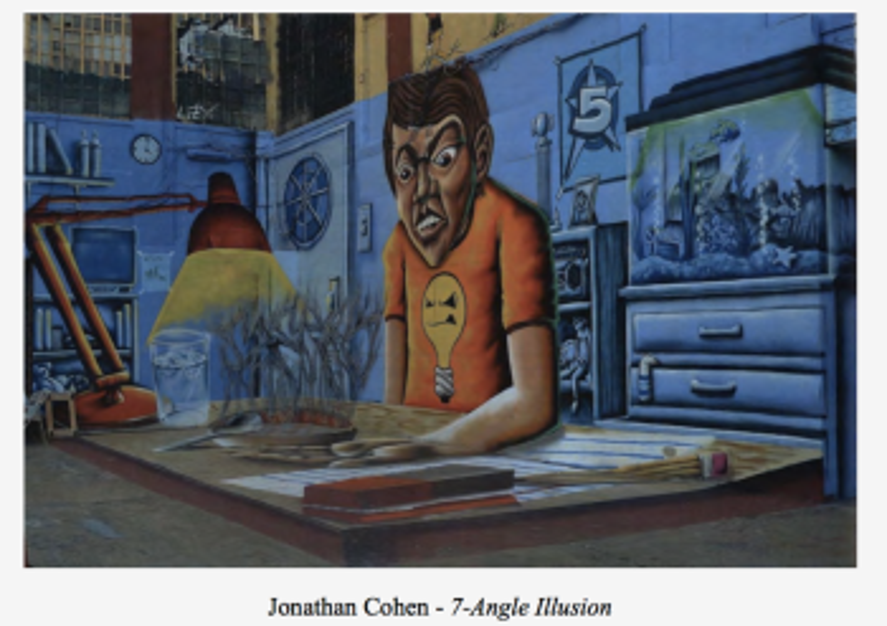 Jonathan Cohen's Angle Illusion.