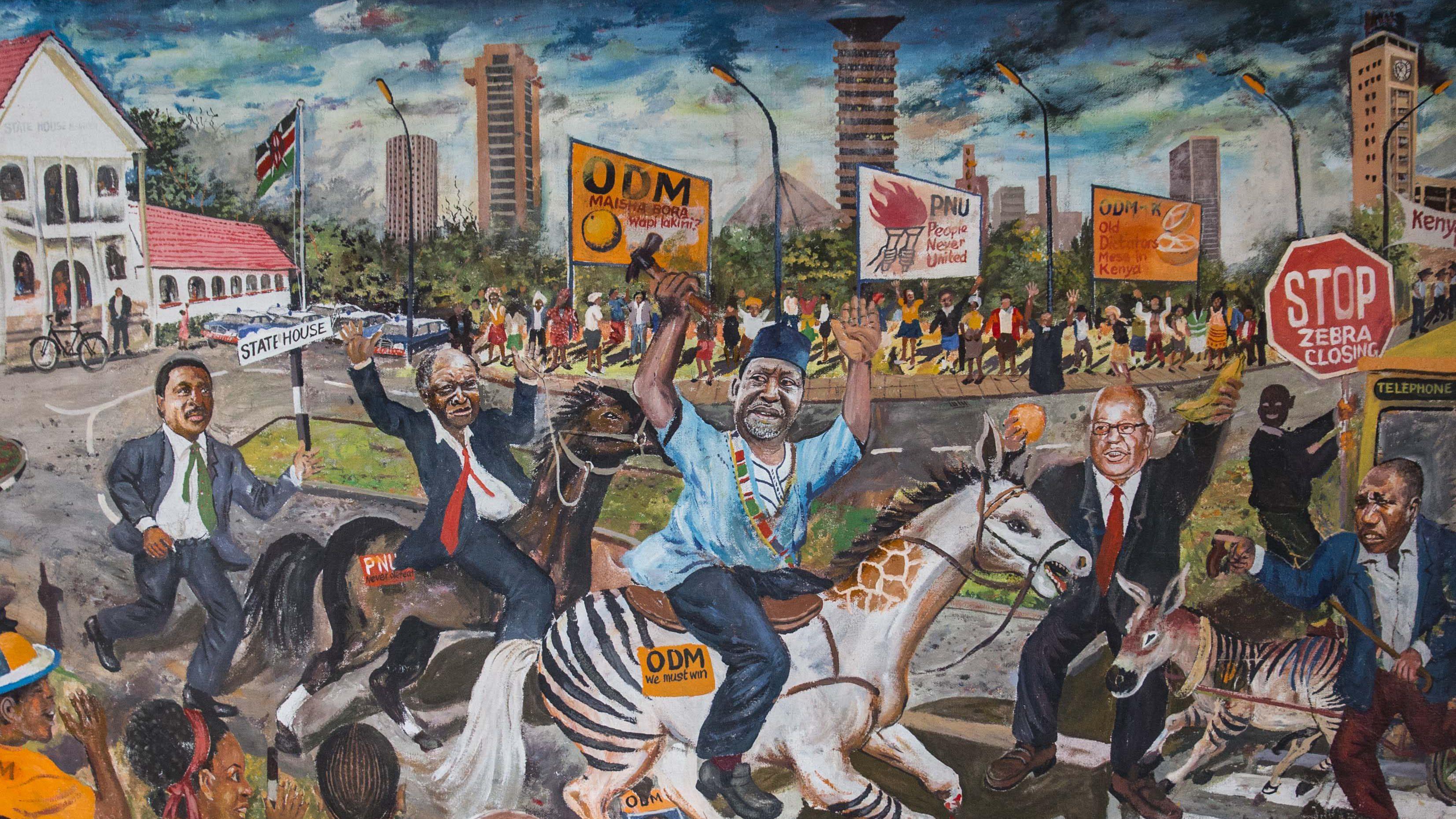 Kenya's contemporary African art scene is captured in