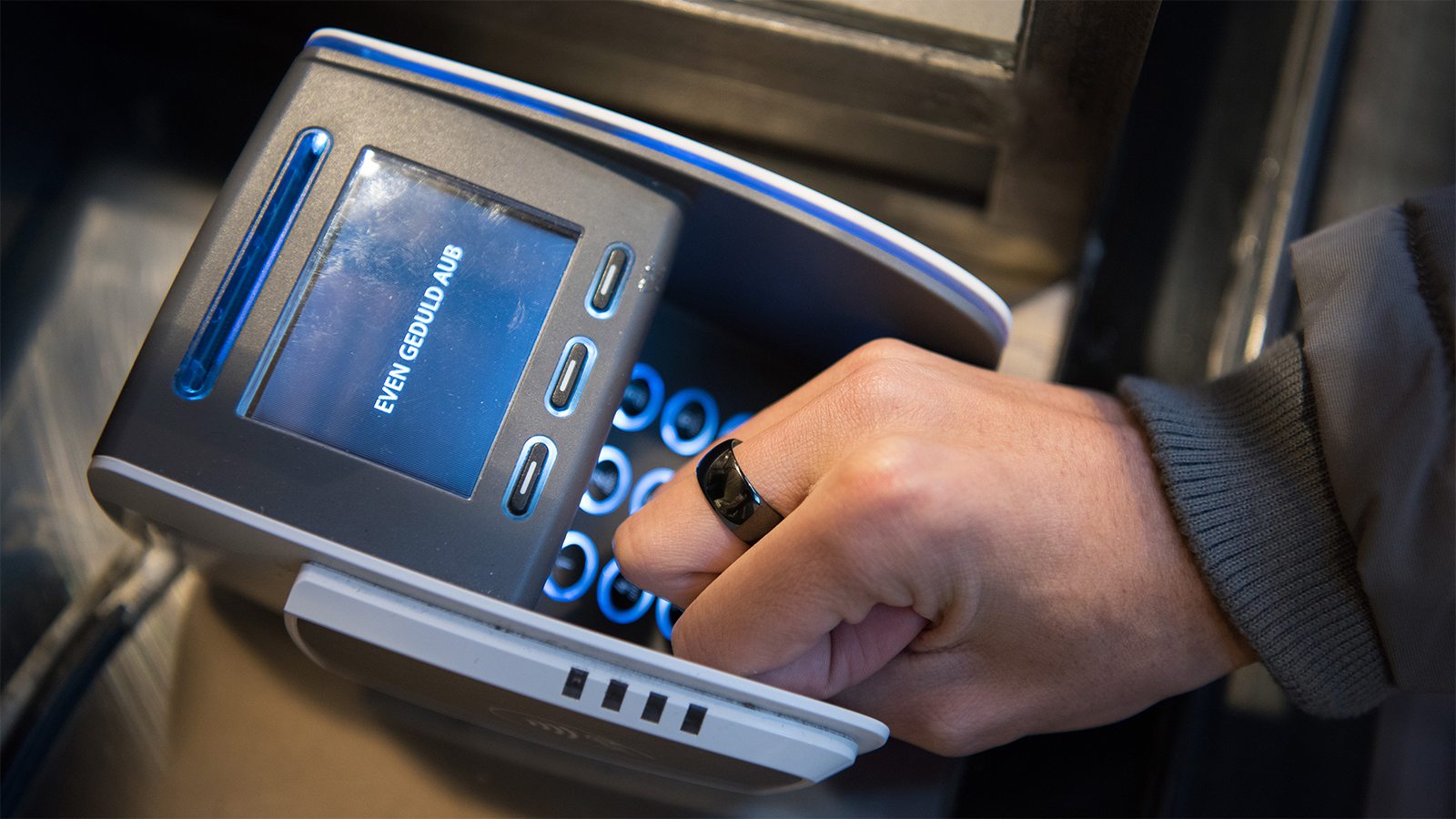 Mastercard contactless payment trial