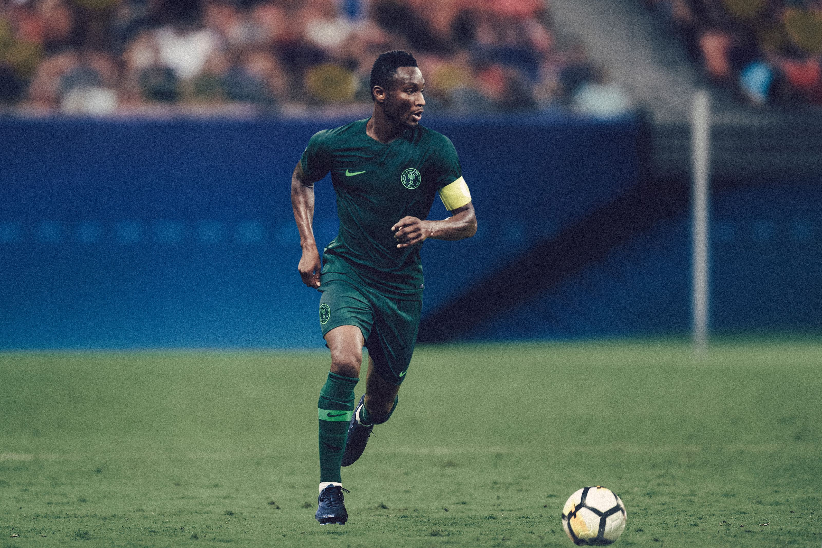 detailed look b2361 517d3 Nigeria Super Eagles World Cup kit by Nike is a hit — Quartz ...