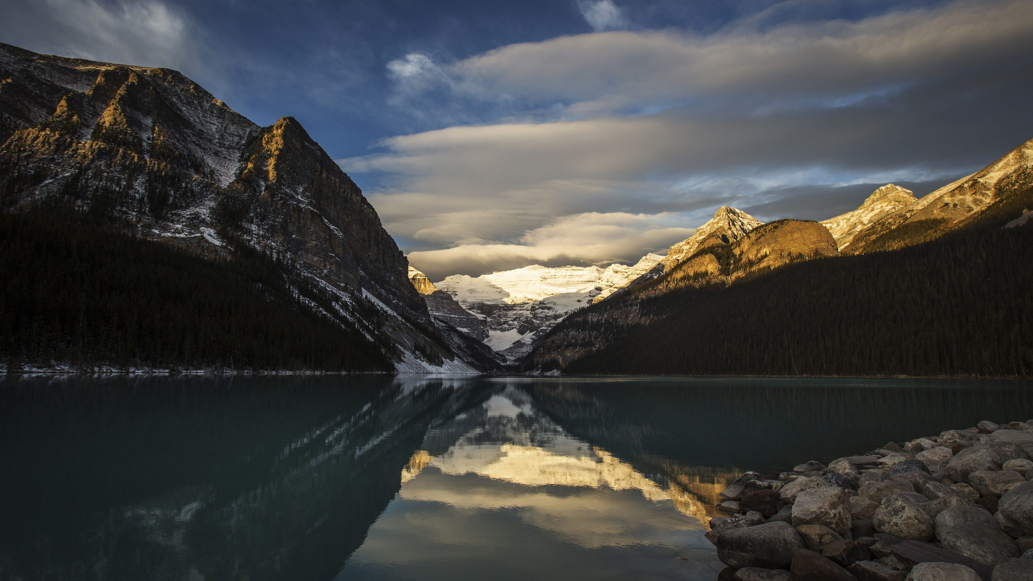 Lake Louise is pictured at Banff National Park, in the Canadian Rocky Mountains outside the village of Lake Louise, Alberta, October 3, 2014.