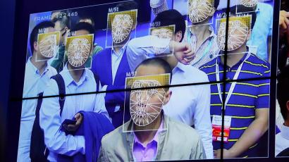 Visitors experience facial recognition technology at Face++ booth during the China Public Security Expo in Shenzhen, China October 30, 2017. Picture taken October 30, 2017.