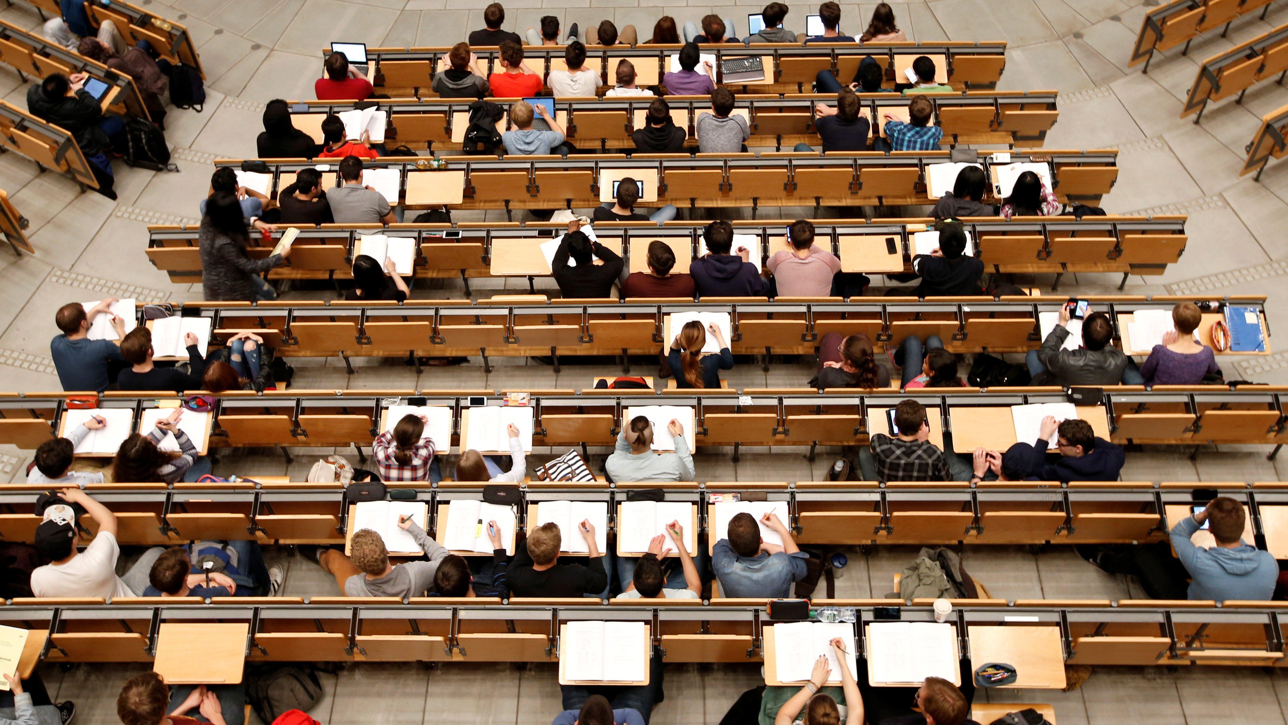lecture college university