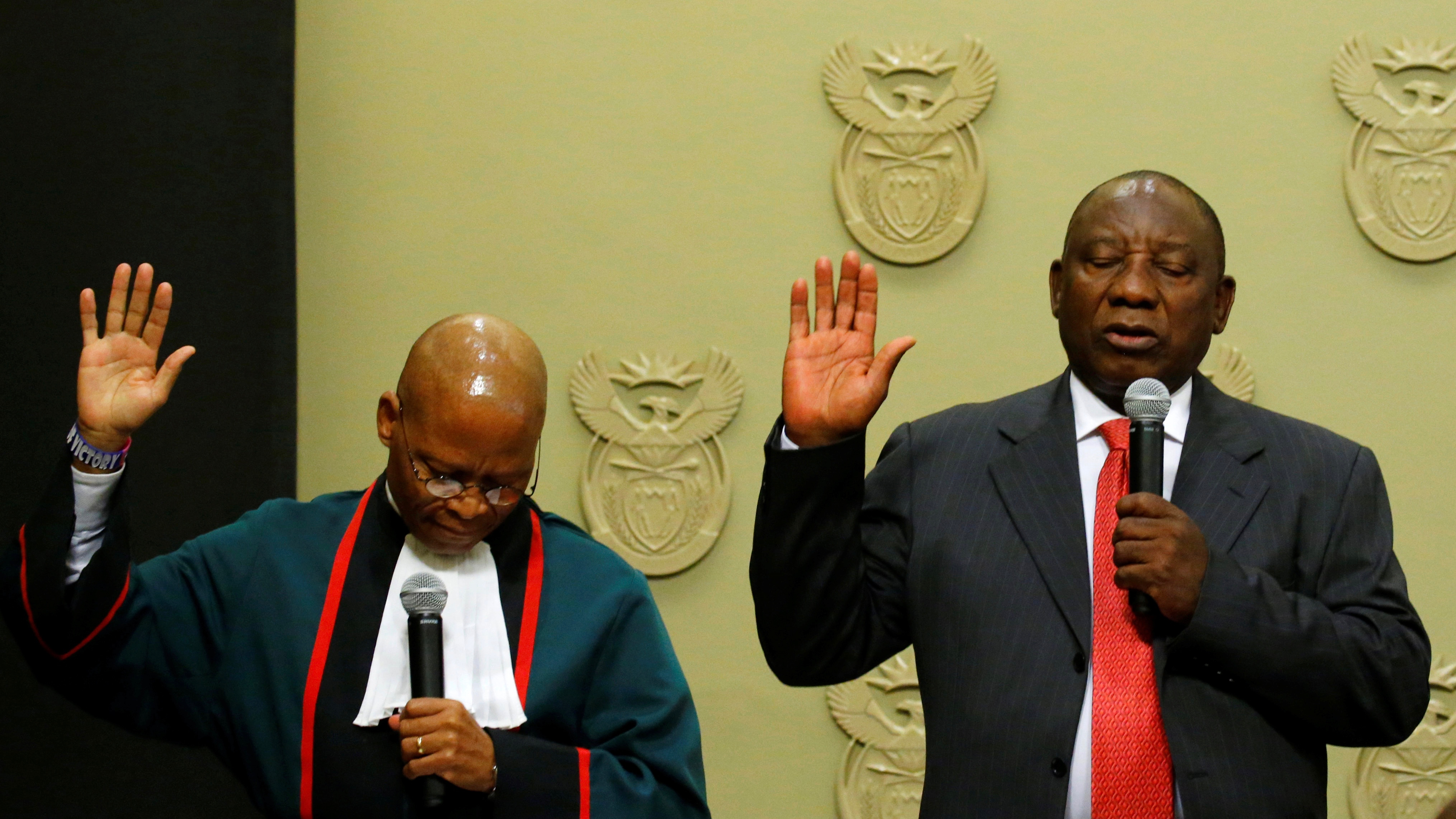 Cyril Ramaphosa elected as South Africa's new president after Jacob Zuma resigns