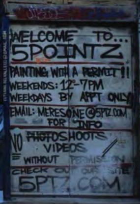 5Pointz rules.