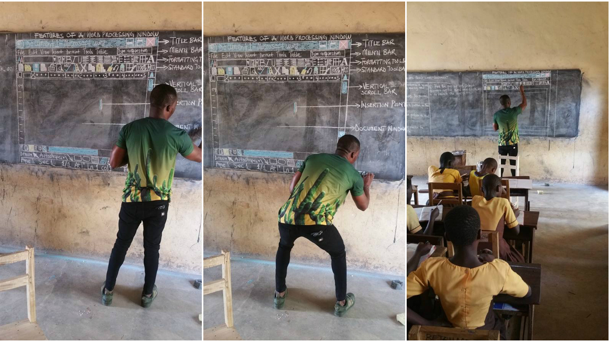Teaching Microsoft Ghana