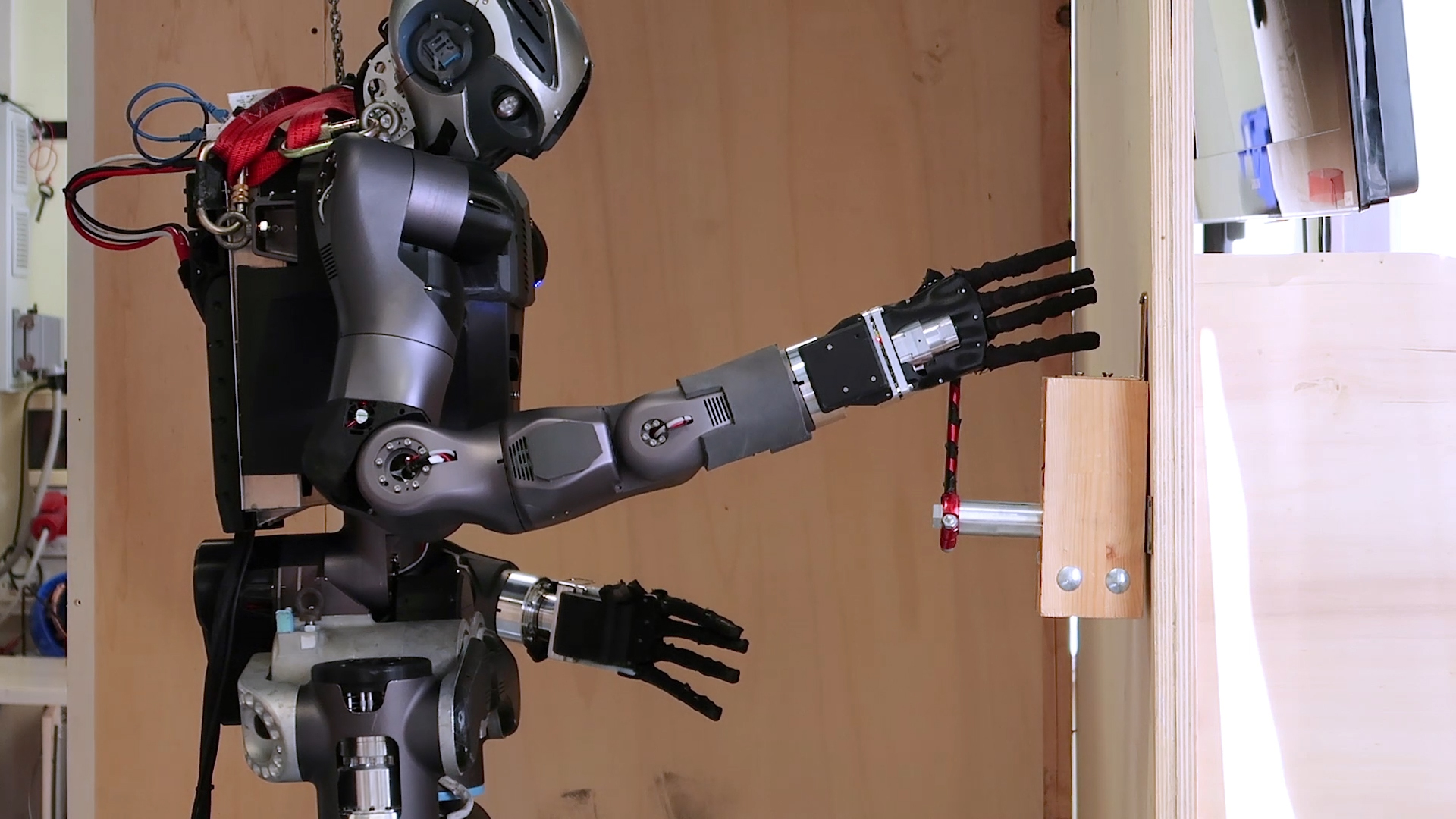 This WALK-MAN humanoid robot can go places too dangerous for people.