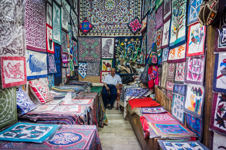 A Khayamiya tent shop