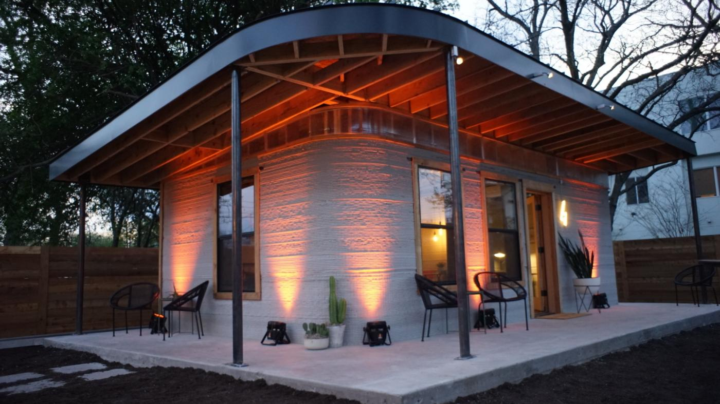 Sxsw 2018 Affordable 3d Printed Houses From Icon And Charity New Residential Electrical Wiring Cost Per Square Foot Story Debuted In Austin Quartz