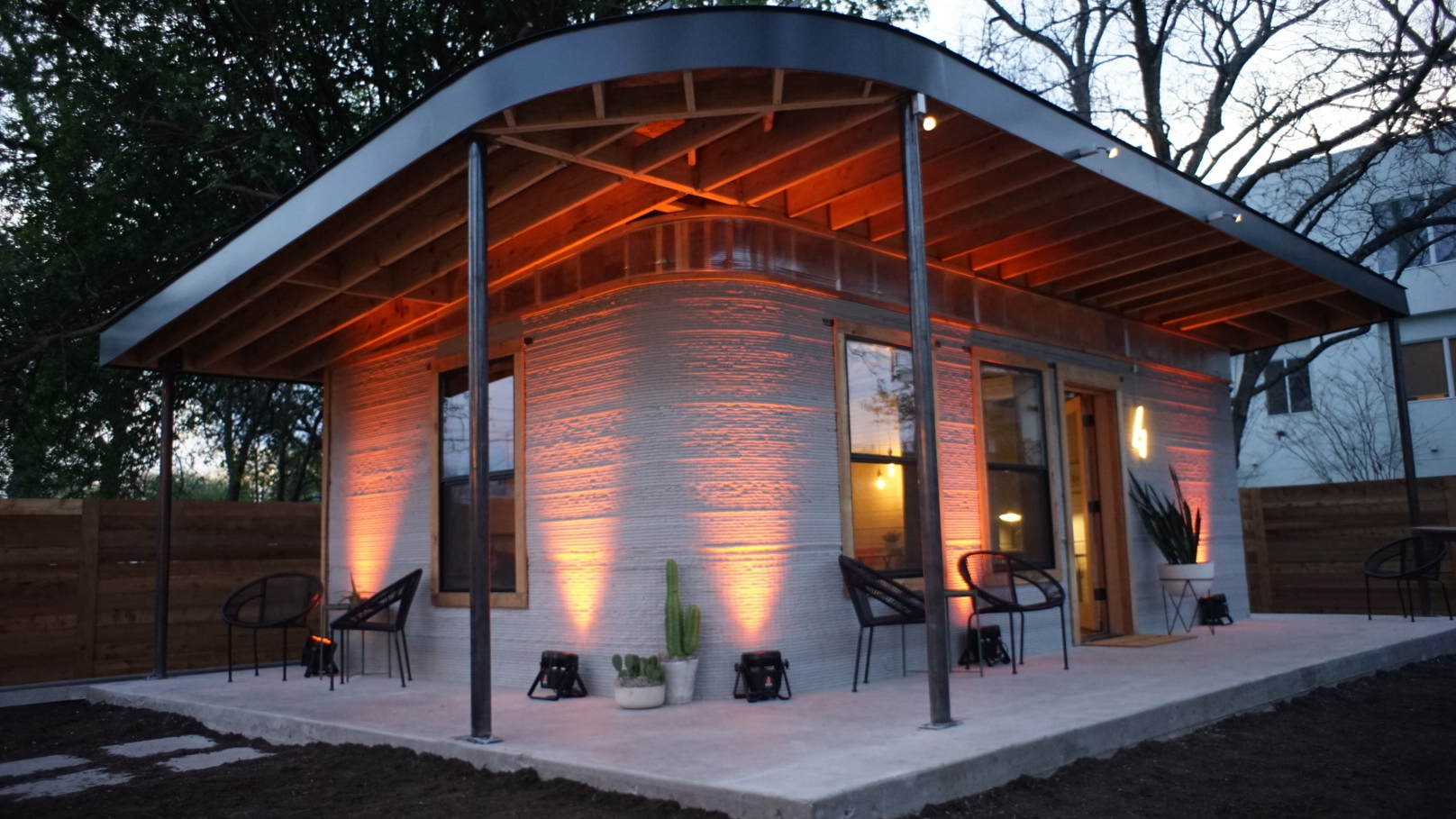 Sxsw 2018 affordable 3d printed houses from icon and for How much is it to build a house in texas