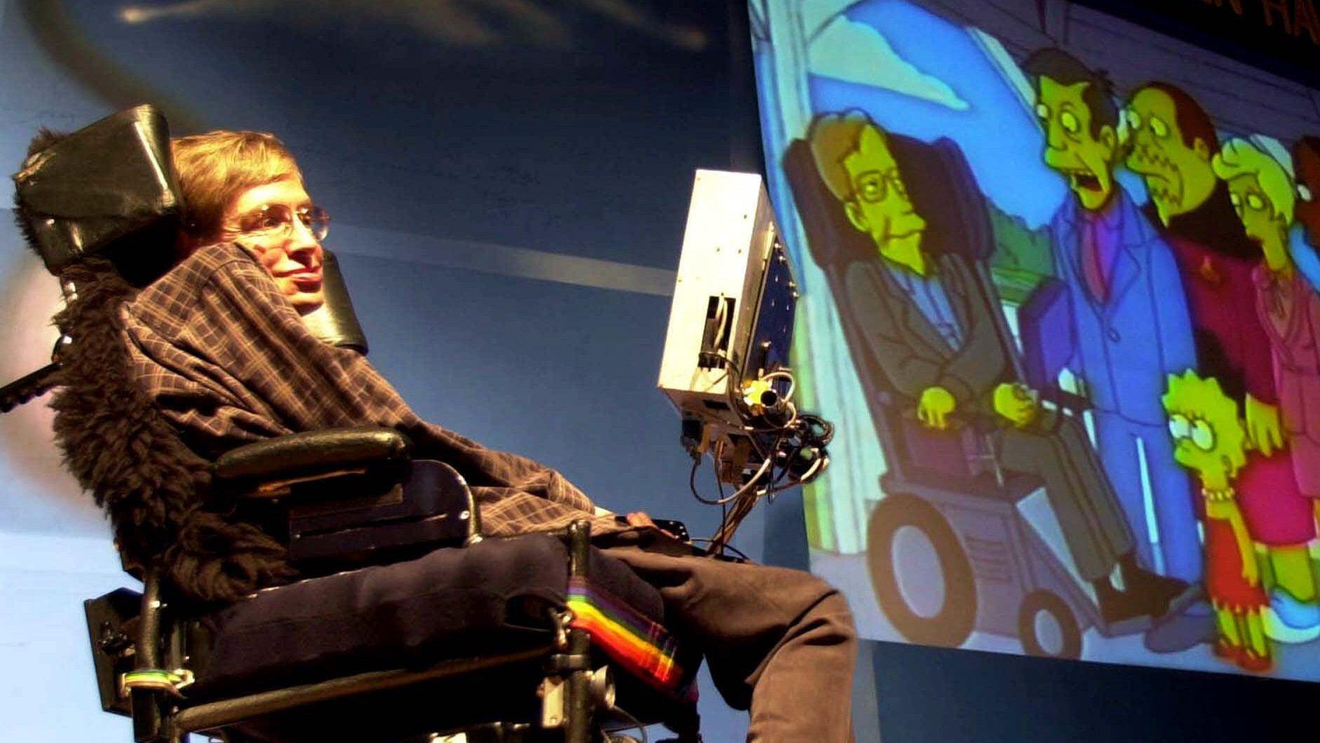 Stephen Hawking Simpsons