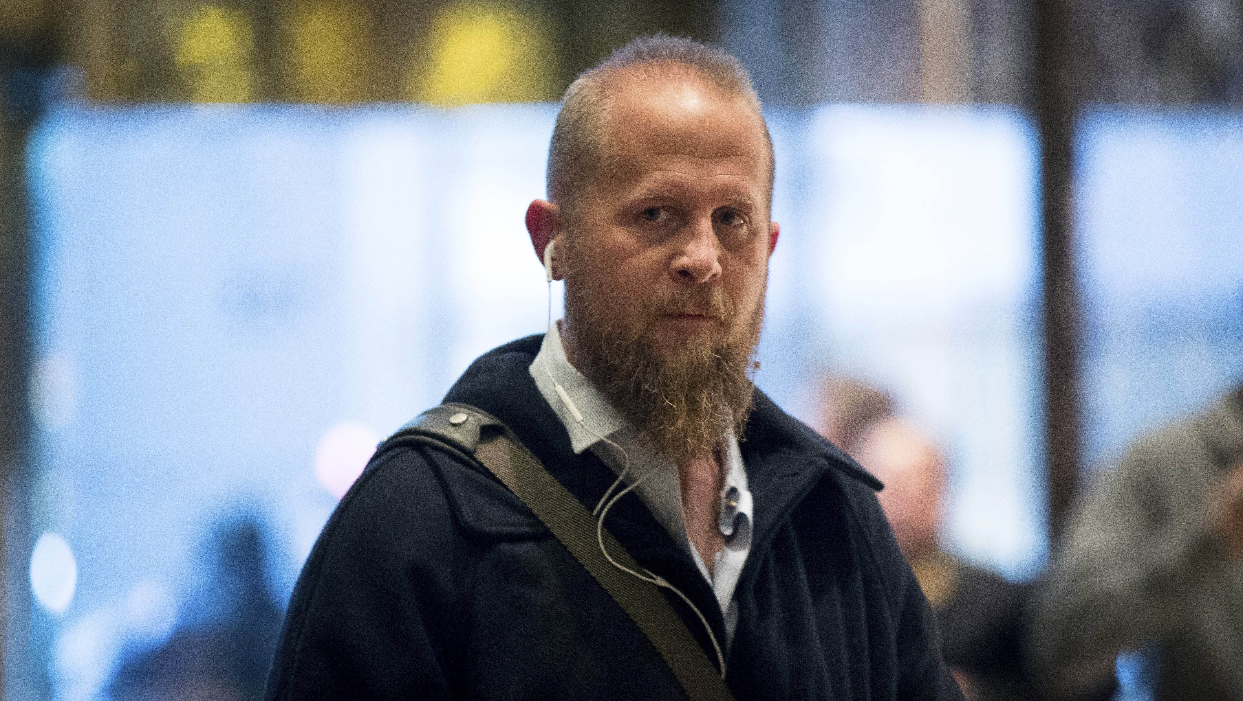 Brad Parscale, who was the President elect Donald Trump's campaign digital director arrives at Trump Tower in New York, Tuesday, Dec. 6, 2016. (AP Photo/Andrew Harnik)