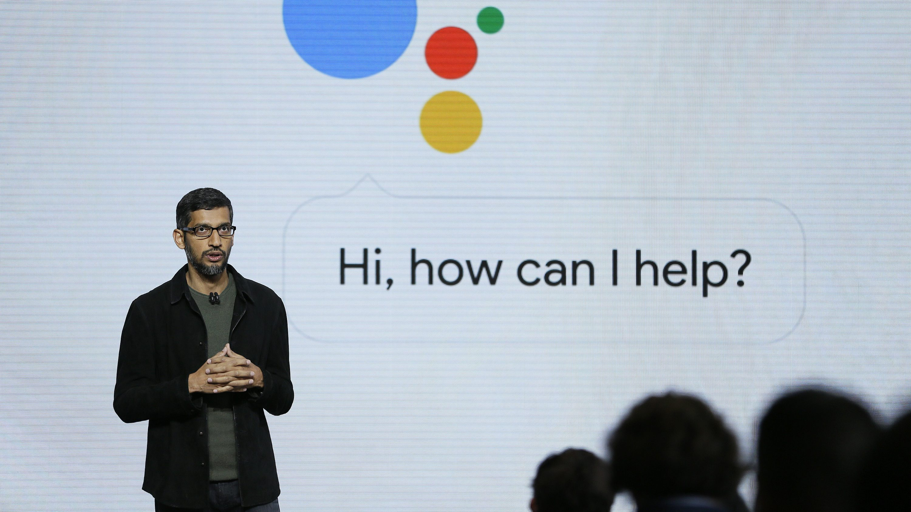 FILE - In this Tuesday, Oct. 4, 2016, file photo, Google CEO Sundar Pichai talks about the new Google Assistant during a product event in San Francisco. Target is jumping into voice-activated shopping as it deepens its relationship with Google, offering thousands of items found in the store except for perishables like fruit and milk. The move is happening as Google says shopping will be available later in 2017 through Google Assistant on iPhone and Android phones, joining its Google Home device and Android TV. (AP Photo/Eric Risberg, File)