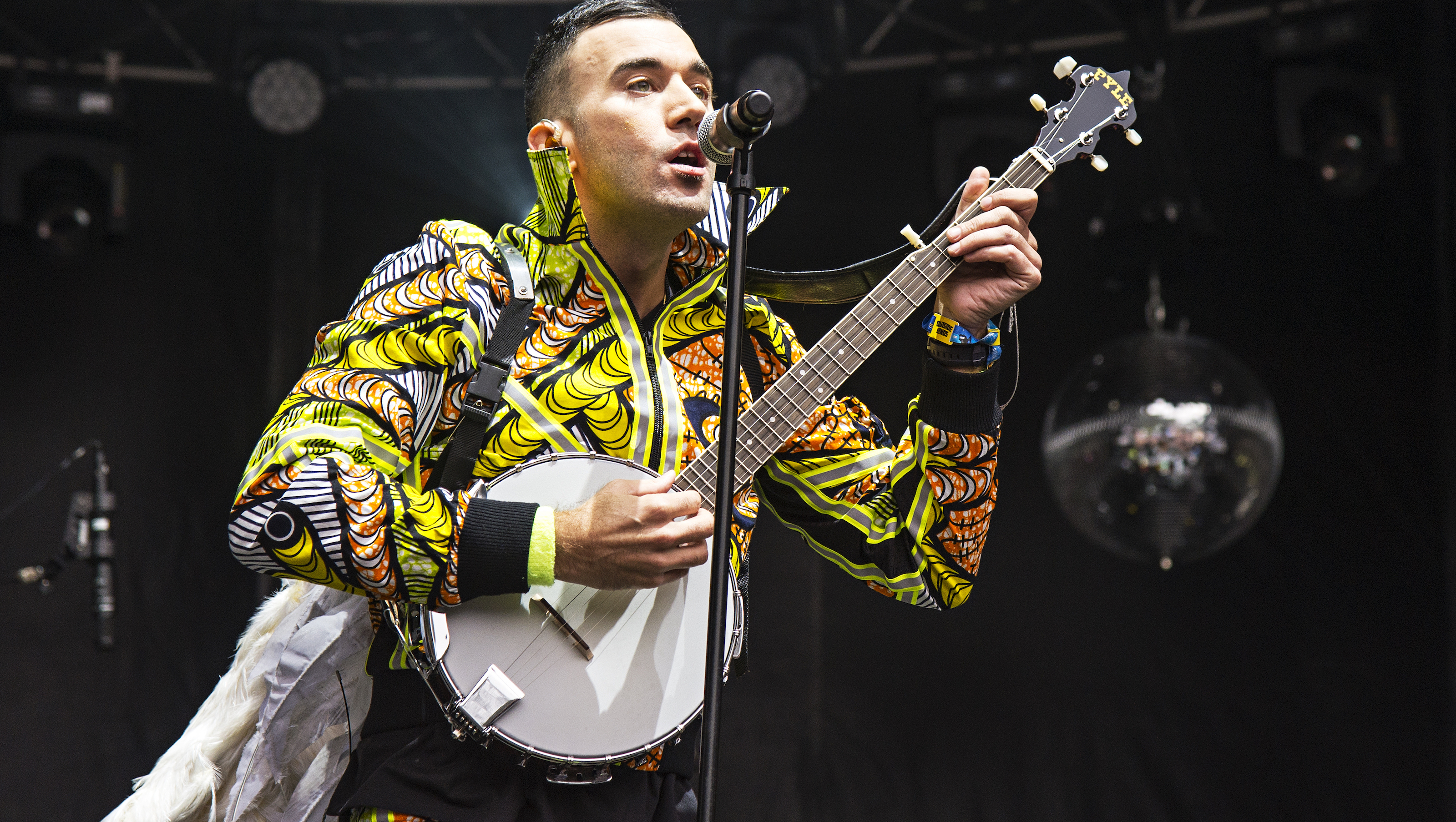 "FILE - In this Aug. 6, 2016 file photo, Sufjan Stevens performs at 2016 Outside Lands Music Festival in San Francisco. Stevens was nominated for an Oscar for best original song for ""Mystery of Love,"" from the film ""Call Me By Your Name."" (Photo by Amy Harris/Invision/AP, File)"