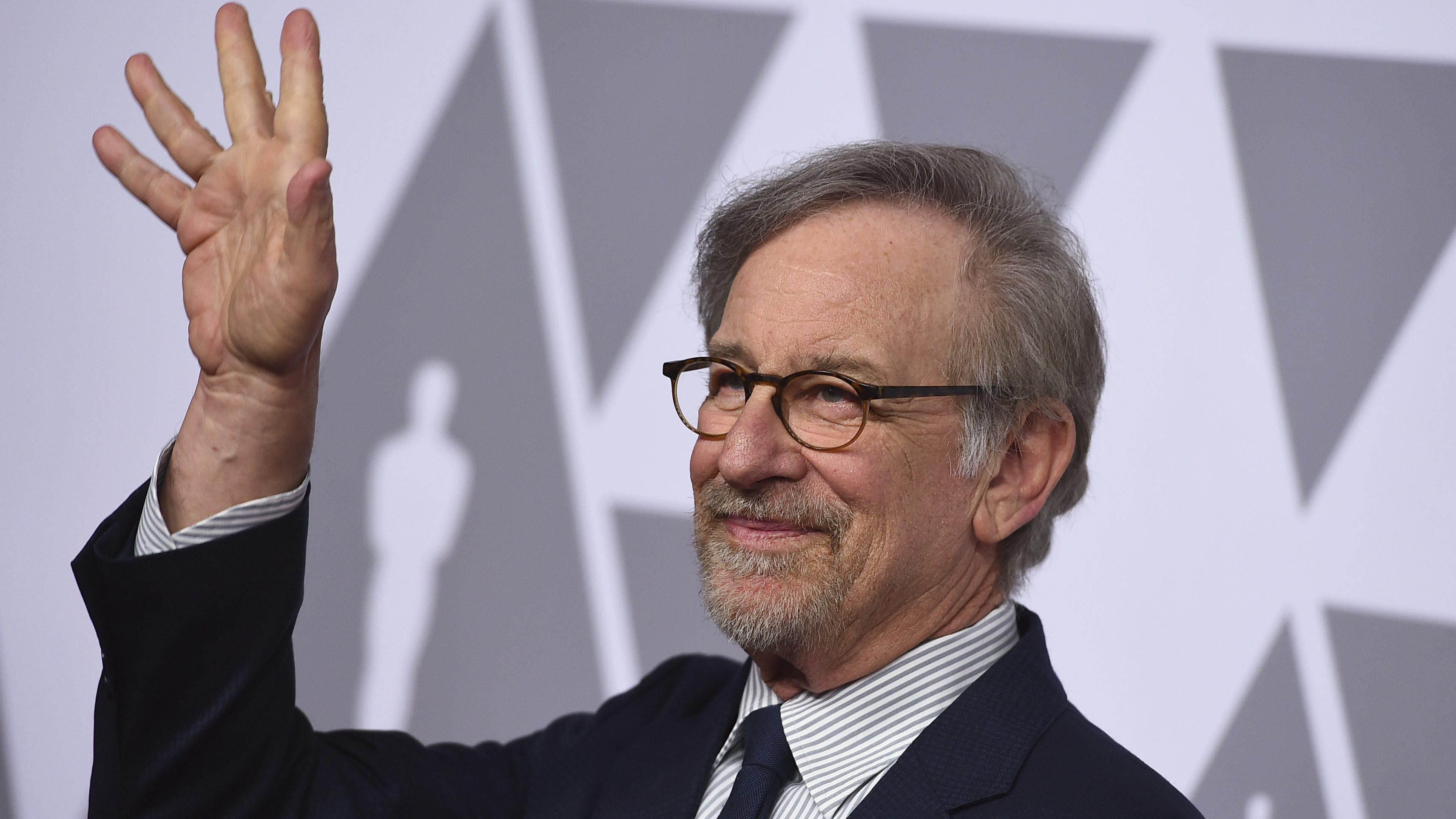 Steven Spielberg arrives at the 90th Academy Awards Nominees Luncheon at The Beverly Hilton hotel on Monday, Feb. 5, 2018, in Beverly Hills, Calif. (Photo by Jordan Strauss/Invision/AP)