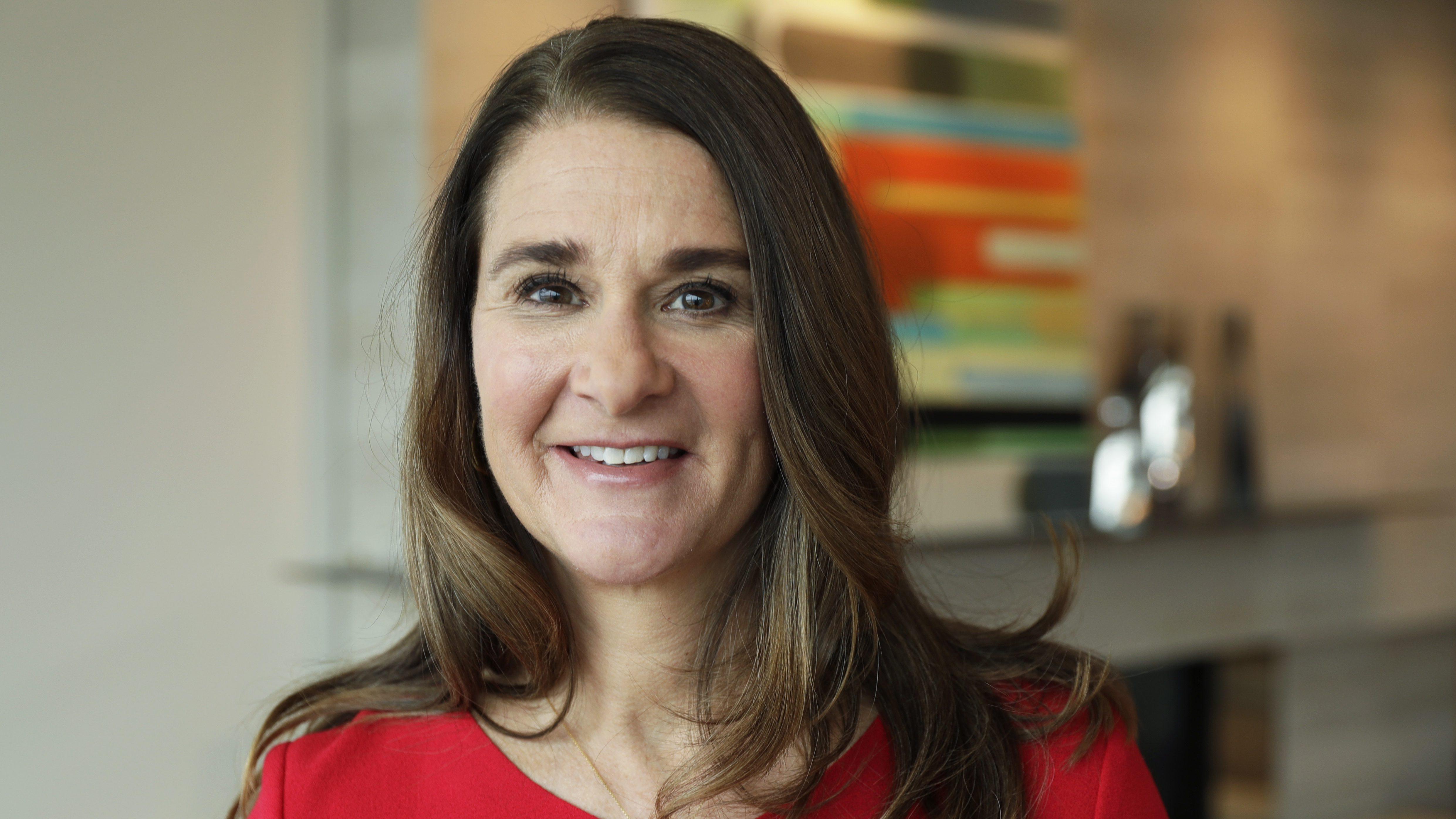 Melinda Gates I Spent My Career In >> Melinda Gates Op Ed When Money Flows Into The Hands Of Women