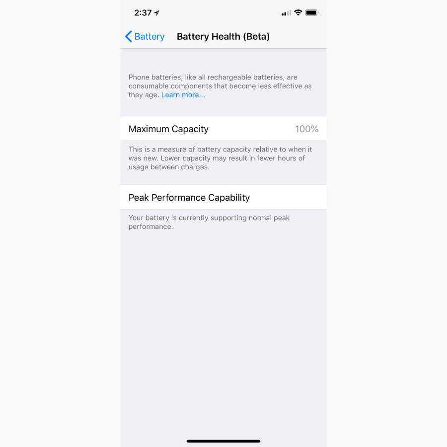 info for ead71 95950 Apple's new iOS 11.3 lets you extend the battery life on older ...