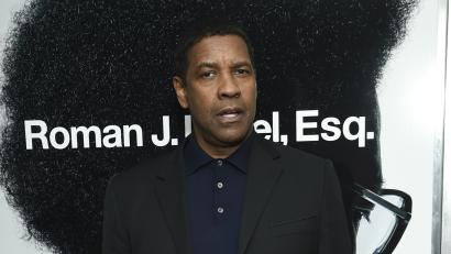 """Actor Denzel Washington attends a special screening of """"Roman J. Israel, Esq."""" at the Henry R. Luce Auditorium on Monday, Nov. 20, 2017, in New York."""