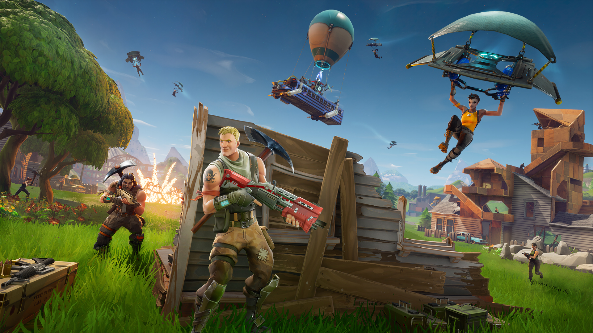 Fortnite A Guide To The Video Game Everyone S Playing Quartz